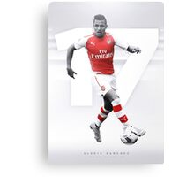 Alexis Sanchez - The AFC Collection Canvas Print