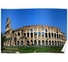 The Colosseum, Italy Poster
