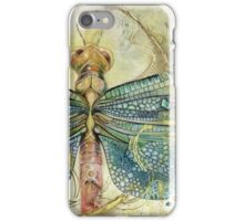 Green Jewel Dragonfly iPhone Case/Skin