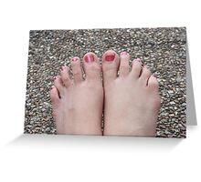 10 Wrinklely Toes Greeting Card