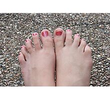10 Wrinklely Toes Photographic Print