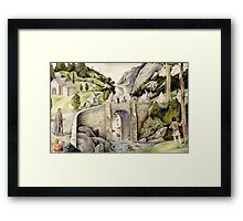 Túrin's First Sight of the Eldar Framed Print