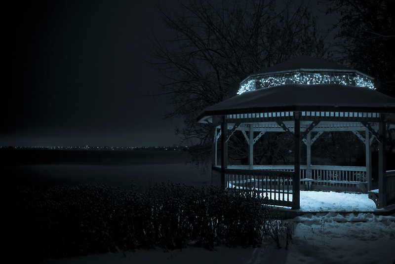 A Sky of Blue Velvet by Johanne Brunet