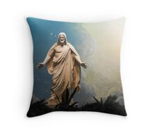 Jesus the Christ  Throw Pillow