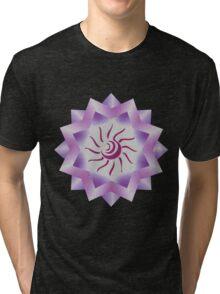 Sun Vector with Gradiation design Tri-blend T-Shirt