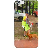 Walking The Dog iPhone Case/Skin