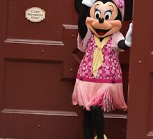 Disney Minnie Mouse Period Minnie Flapper Minnie Mouse by notheothereye