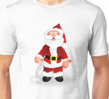 Santa and His List Unisex T-Shirt