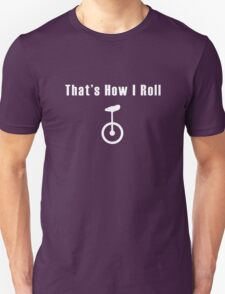 Unicycle geek funny nerd T-Shirt