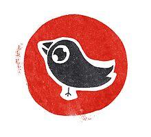 bird print by Steve Leadbeater
