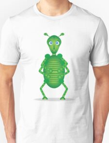Happy Green Insect T-Shirt