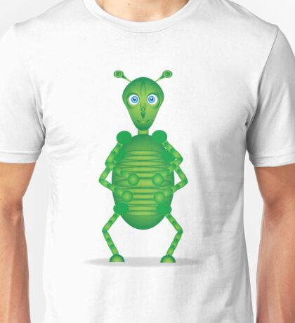 Happy Green Insect Unisex T-Shirt