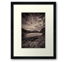 Loch Killin with snow topped Carn a' Choire Ghlaise to the rear Framed Print