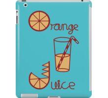 Orange Juice iPad Case/Skin