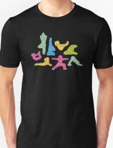 Rainbow Yoga Pattern T-Shirt