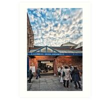 Ladbroke Grove Tube Station Art Print