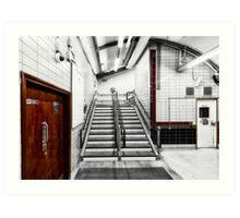 Latimer Road Tube Station Art Print