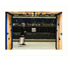 Leicester Square Tube Station Art Print