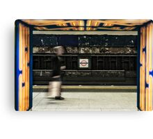 Leicester Square Tube Station Canvas Print