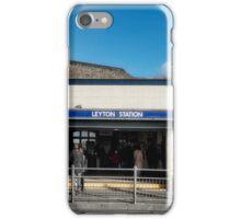Leyton Tube Station iPhone Case/Skin