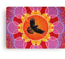 Flight of the Black Cockatoo Canvas Print