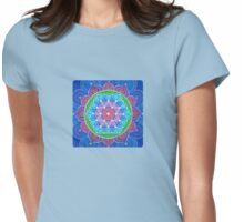 Lotus Flower of Life Womens Fitted T-Shirt