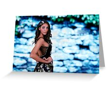 High Fashion Bokeh Fine Art Print Greeting Card