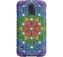 Rainbow Flower of Life Samsung Galaxy Case/Skin