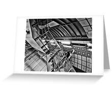 London Bridge Tube Station Greeting Card