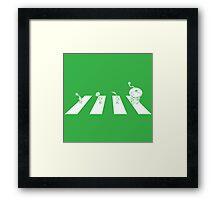 Pikmin's Garden Framed Print