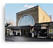 Loughton Tube Station Canvas Print