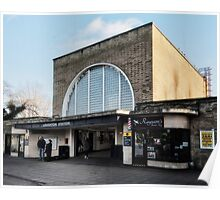 Loughton Tube Station Poster