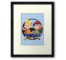 Ness and Lucas Framed Print