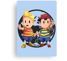 Ness and Lucas Canvas Print