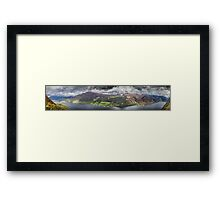 Across Loch Broom Framed Print