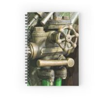 old time engineering Spiral Notebook