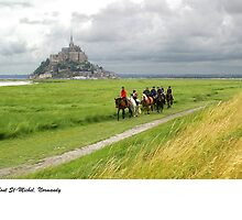 Mont St-Michel, Normandy by macondo