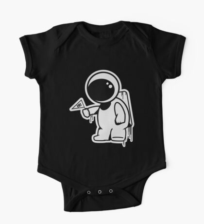 Lonely Astronaut One Piece - Short Sleeve