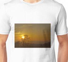 Sunset from Harlaw Reservoir Unisex T-Shirt
