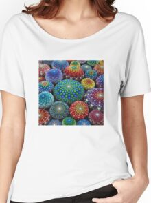 Jewel Drop Mandala Stone Collection #1 Women's Relaxed Fit T-Shirt