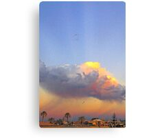 Rain Cloud Over Fremantle  Canvas Print