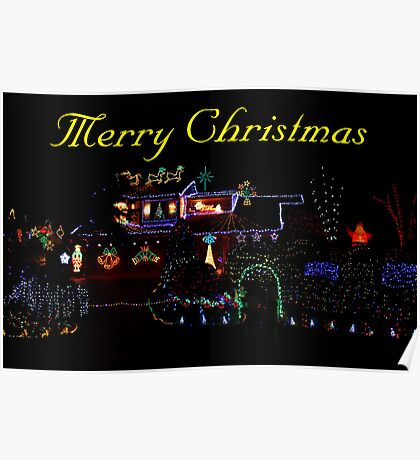 Lights Of Christmas Poster