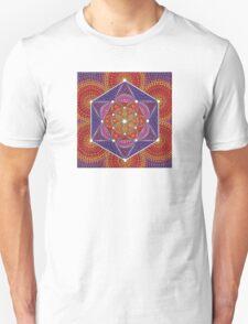 Fire Star- Genesis Pattern T-Shirt
