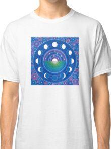 Moon Phase Mandala Classic T-Shirt