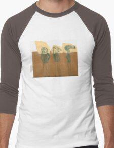Birdpeople Men's Baseball ¾ T-Shirt