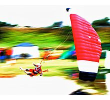 expression of speed Photographic Print