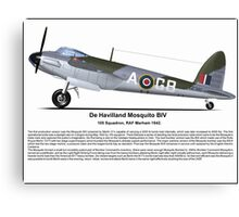 De Havilland Mosquito BIV Canvas Print
