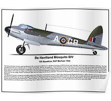 De Havilland Mosquito BIV Poster