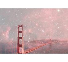 Stardust Covering San Francisco Photographic Print