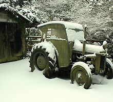A Very Old Tractor by Jamie  Green